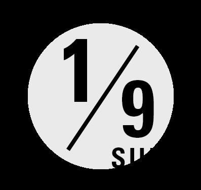 2022年1月9日(日)